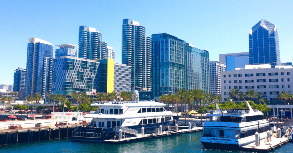 Yacht charters for Labor Day in San Diego.