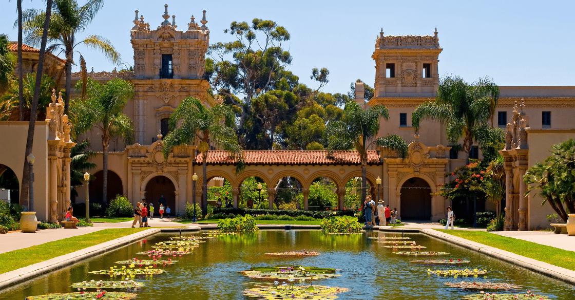 Balboa Park in San Diego, CA.
